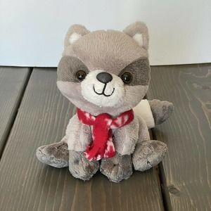 "2015 Animal Adventure Baby Raccoon 7"""